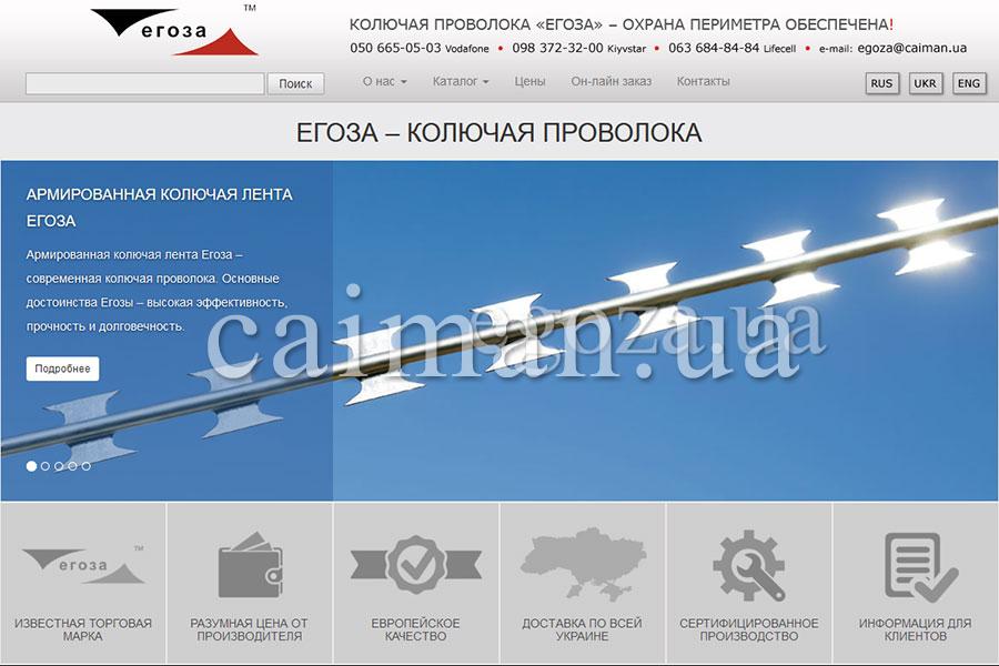 Updated Egoza website