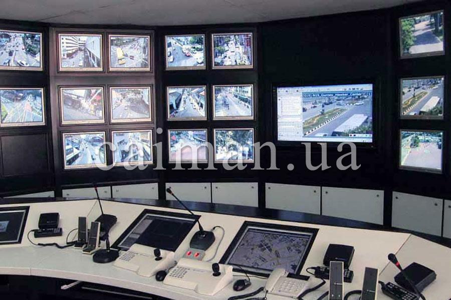 """Sistema de vigilancia del Grupo de Protección """"Caimán"""" en Kíev"""