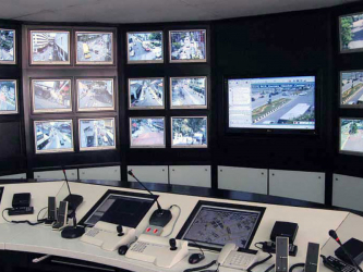 Video surveillance in Kiev from Caiman Production Group