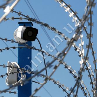 Clôture de l'ingénierie et de surveillance vidéo