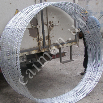 "Barbed wire ""Egoza"" of large diameters"