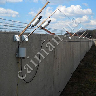 Capacitive systems of perimeter protection