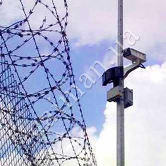 Колючая проволока Егоза, защитные заграджения, камеры наблюдения, контроль доступа, охранная синализация