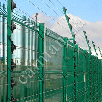 Elektroschocksysteme des Perimeterschutzes Caiman
