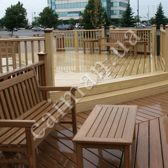 PVC buildings material, decking, plastic profile