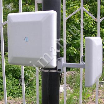 Radio-beam perimeter protection system