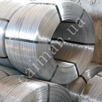 Wire for production of Egoza barbed wire