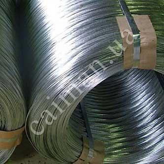 Galvanized steel wire for Egoza razor wire