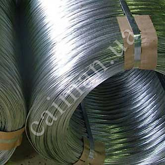 Galvanized steel wire for Egoza razor wire