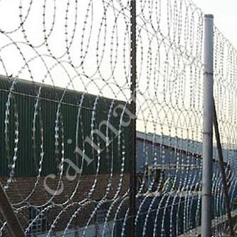 Забор из плоского барьера безопасности ПББ Егоза