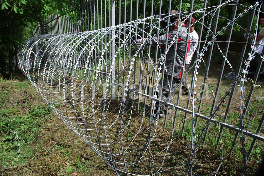 Спиральный барьер Егоза-Аллигатор 1500/7