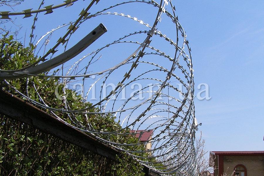 Спиральный барьер Егоза-Стандарт 950/7