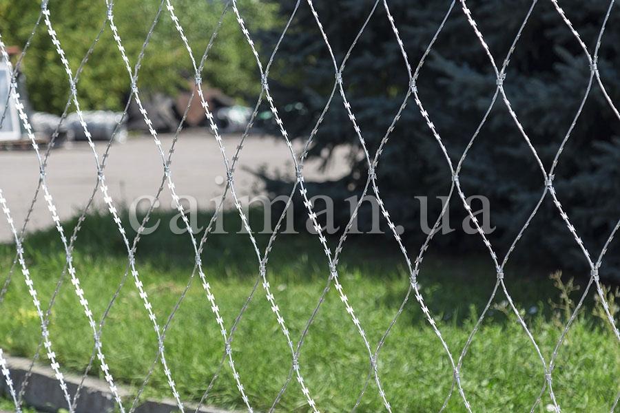 Колючая сетка Пиранья 2,7х10