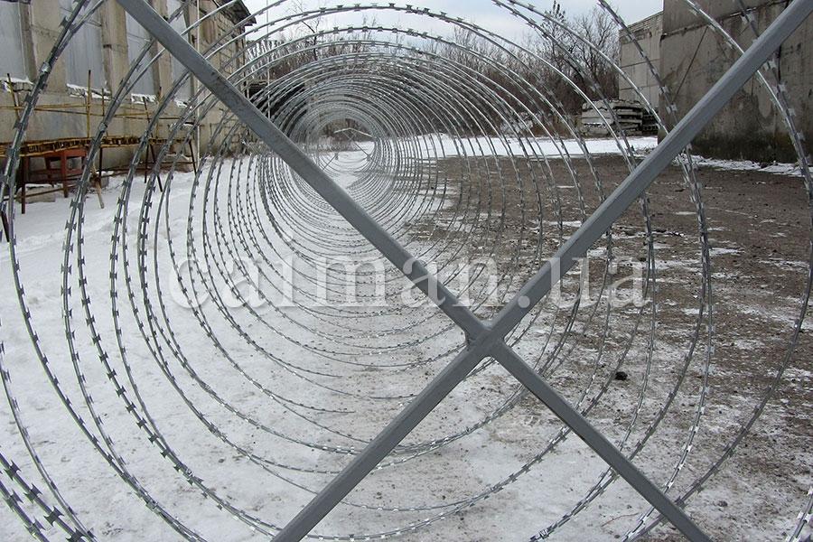 Мобильный барьер Егоза-Аллигатор-1250/7