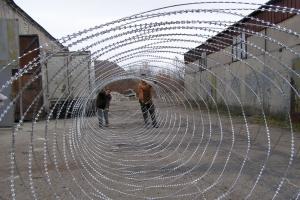 Спиральный барьер Егоза-Кайман 1500/11 фото